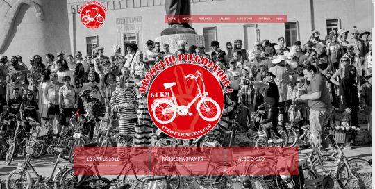 Manifestazione ciclistica goliardica - orgoglio pieghevole