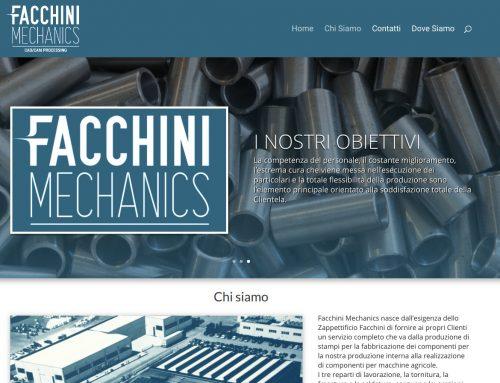 Sito di Facchini Mechanics
