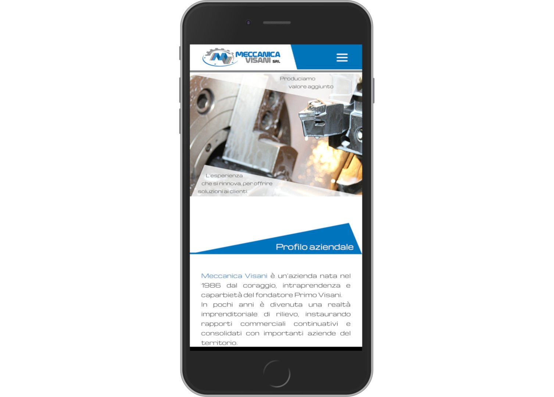 Mersione Smartphone: Sito Meccanica Visani