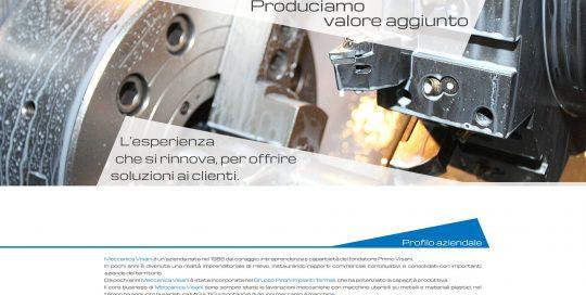 Sito Meccanica Visani: versione PC